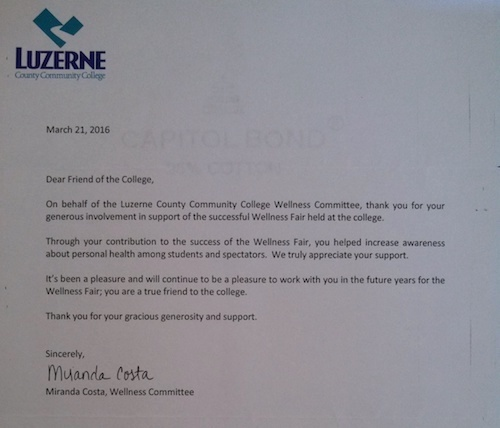 Community College Ref Ltr